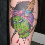 Zombie Geisha Head
